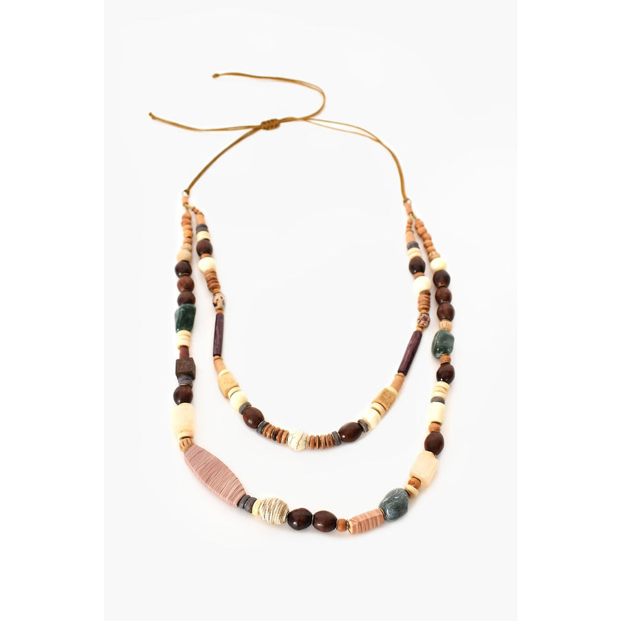 STONE TIMBER MIX NECKLACE (4858234273846)