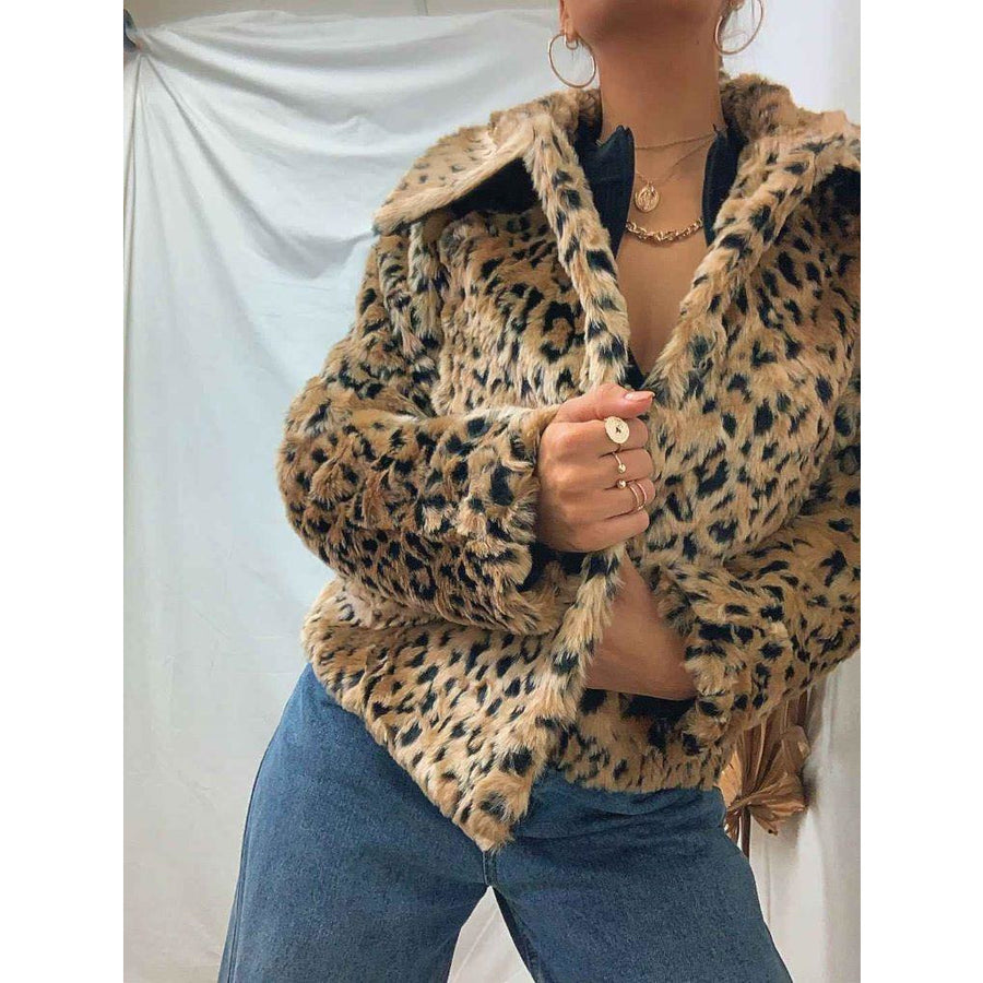 Kitty faux fur jacket