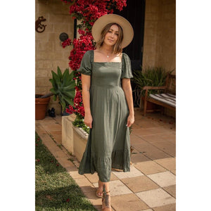 JANIE LINEN  MAXI DRESS (4844095995958)