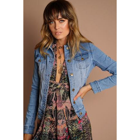 Diana Classic Denim Jacket
