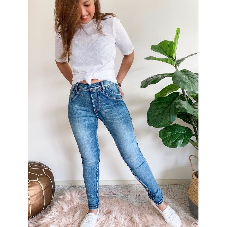 Easy Comfort pull up jeans