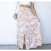 COUNTRY FLORAL  MAXI SKIRT (4849250500662)