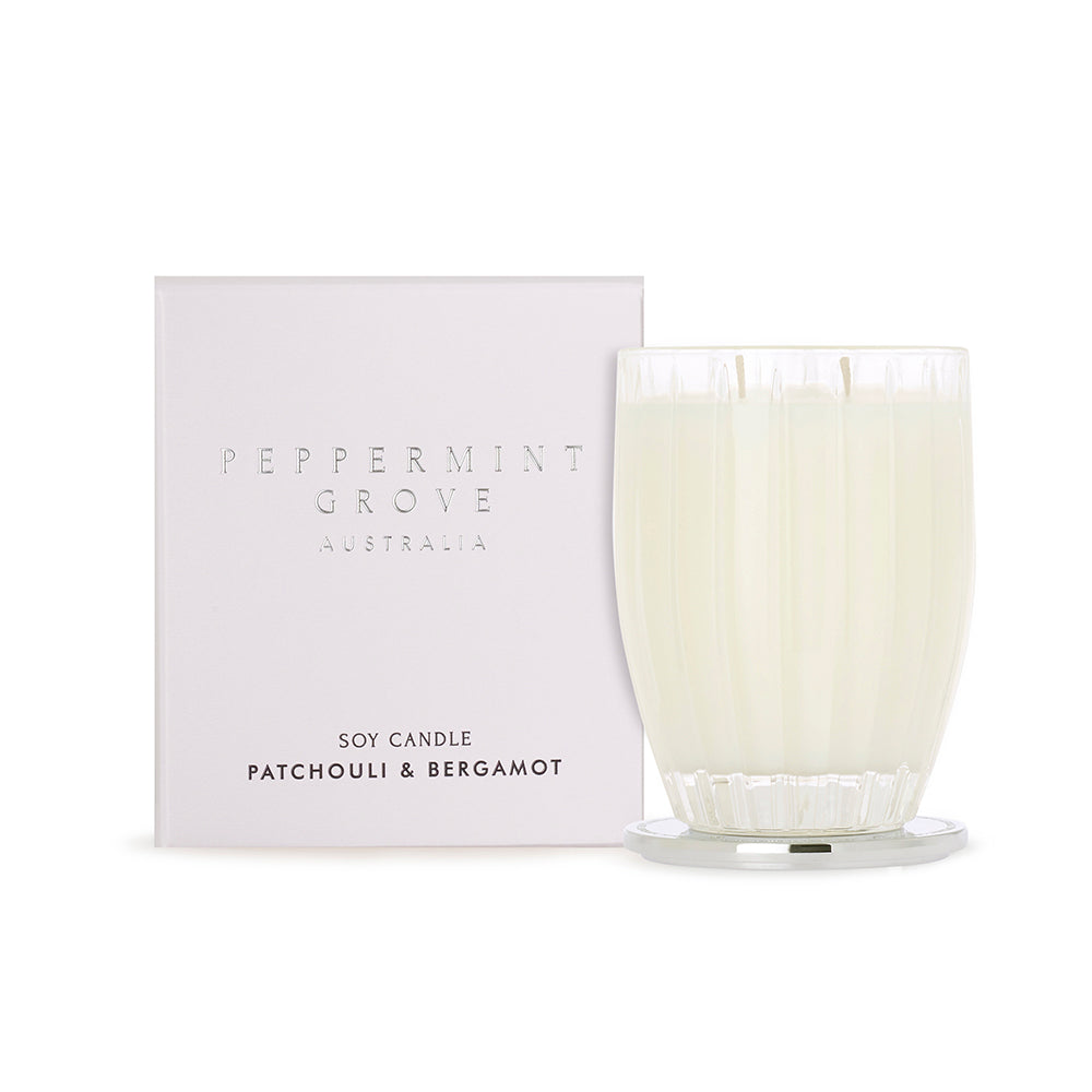 Patchouli & Bergamont - Peppermint Grove Candle