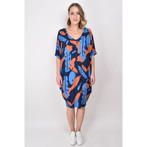 FALLING LEAF MIRACLE DRESS (4716064899126)