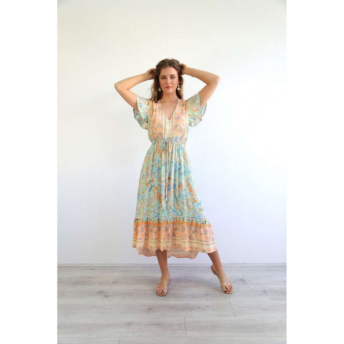 BOHO BRIGHT HILO DRESS