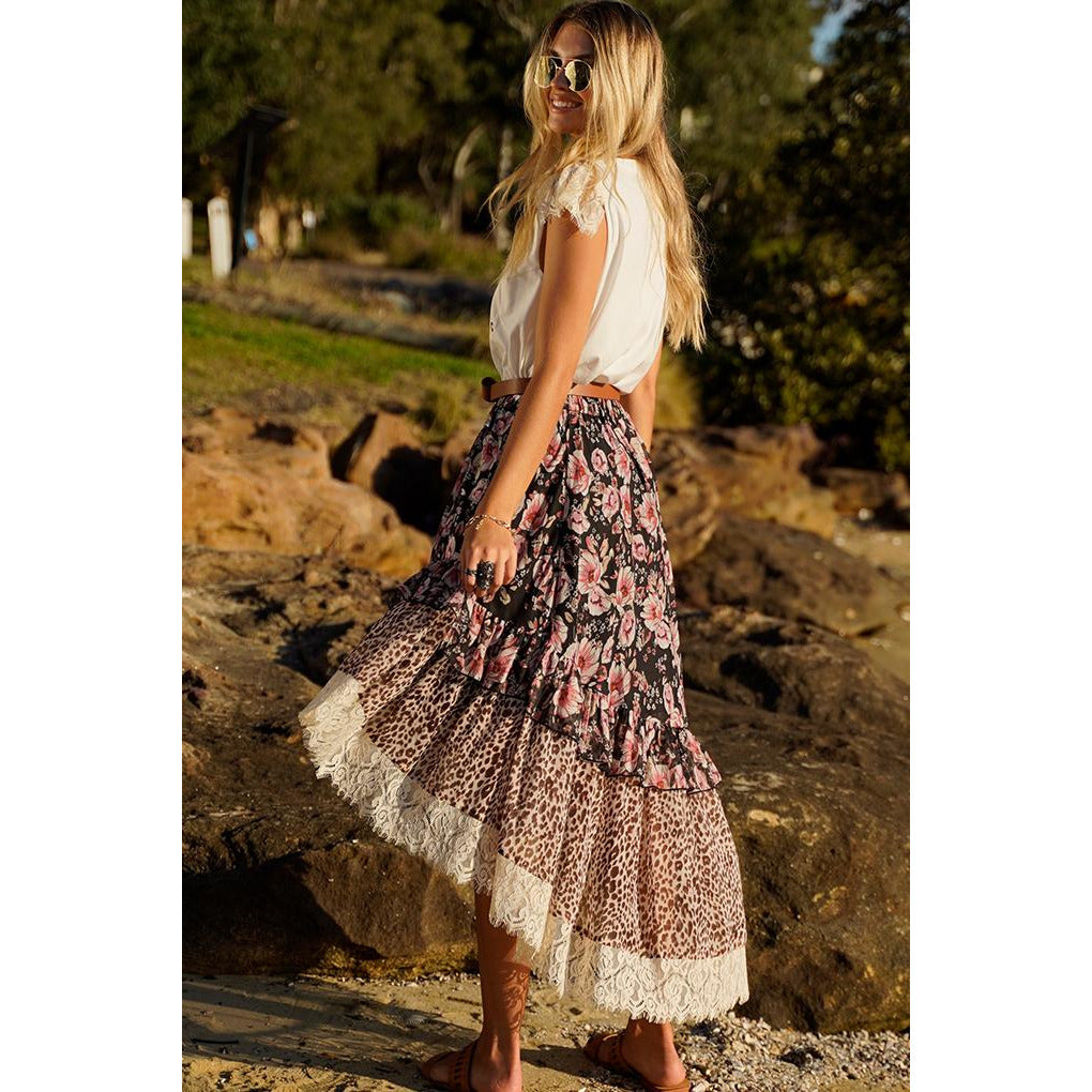 ANELLA FLORAL SKIRT