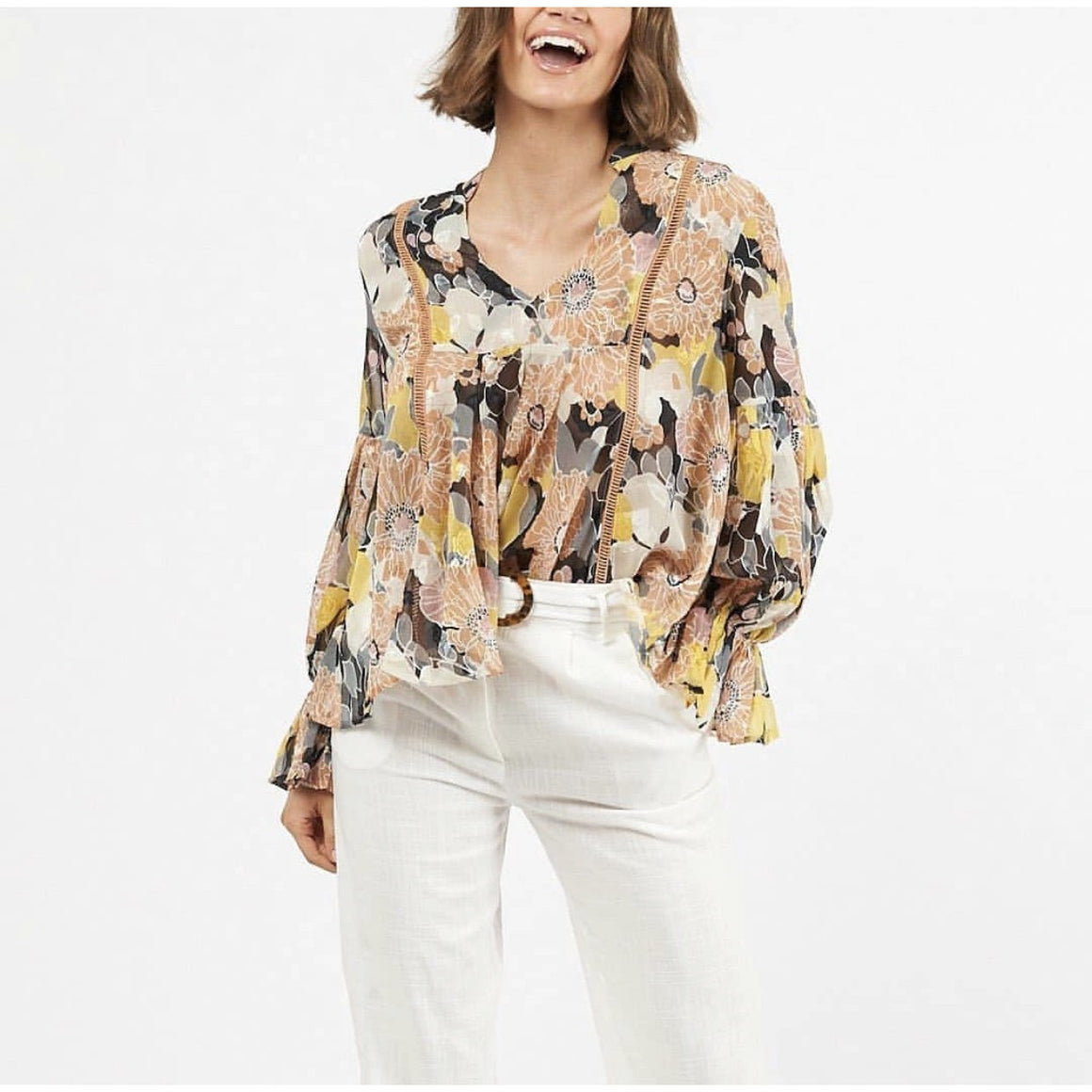 FLORAL WONDER BLOUSE
