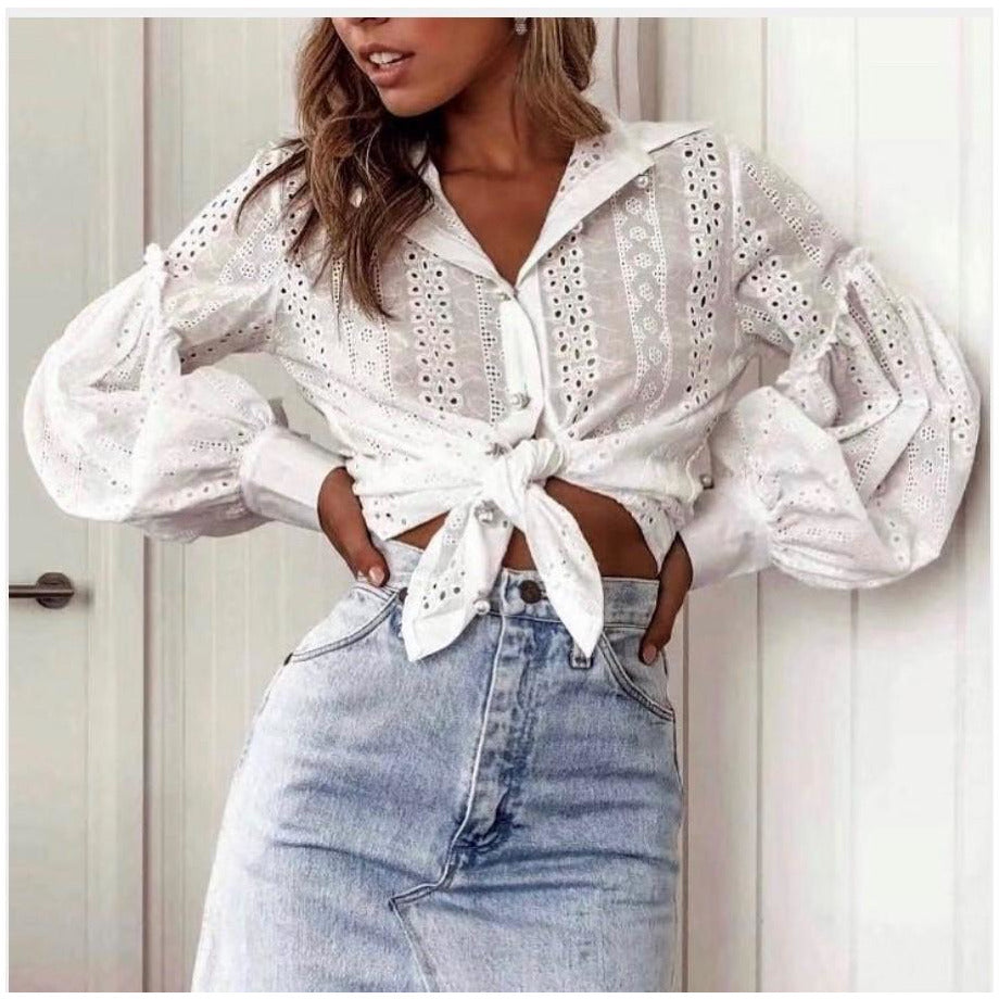 Izzy Lace Shirt