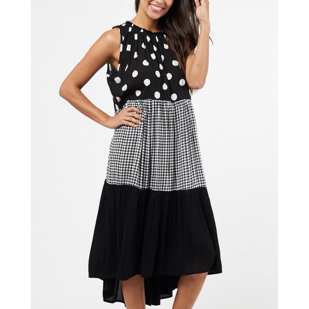 SPLICE TIERED DRESS