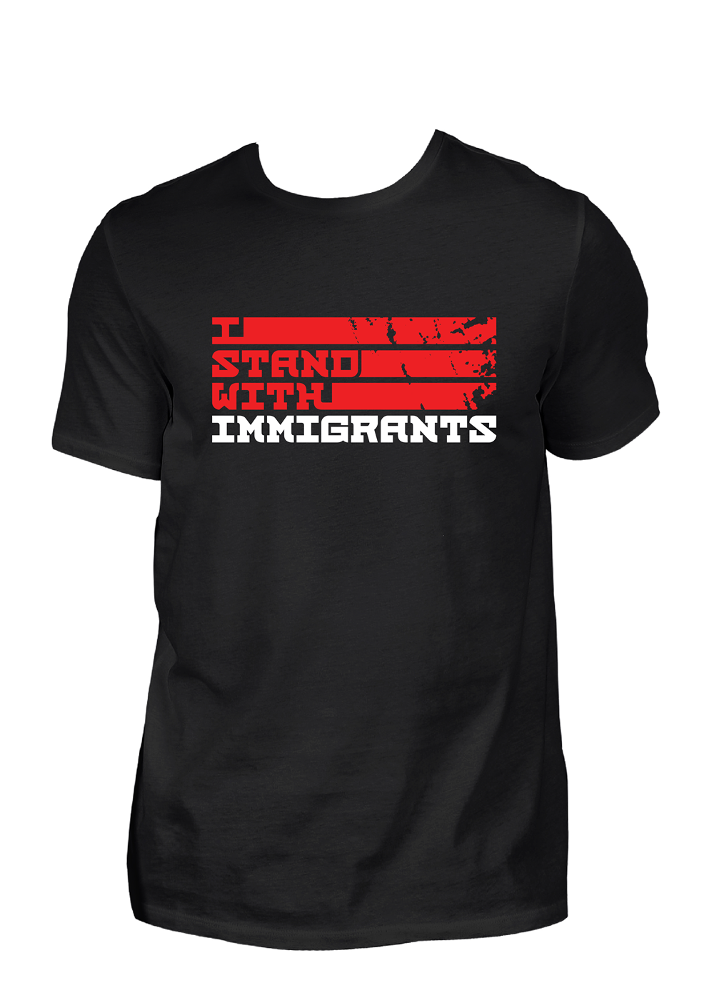 French Montana X I Stand With Immigrants T-Shirt