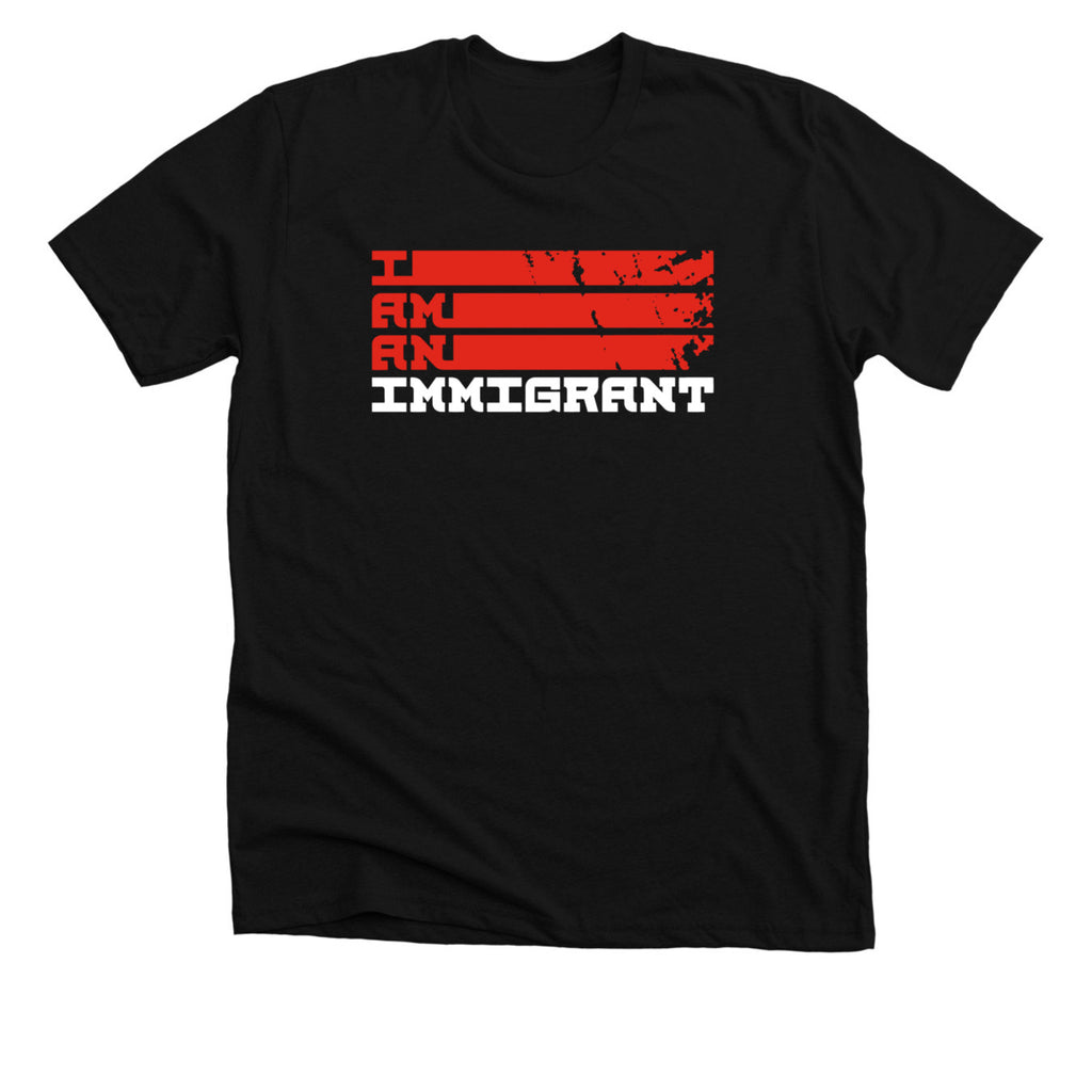 I Am An Immigrant - Black Tee