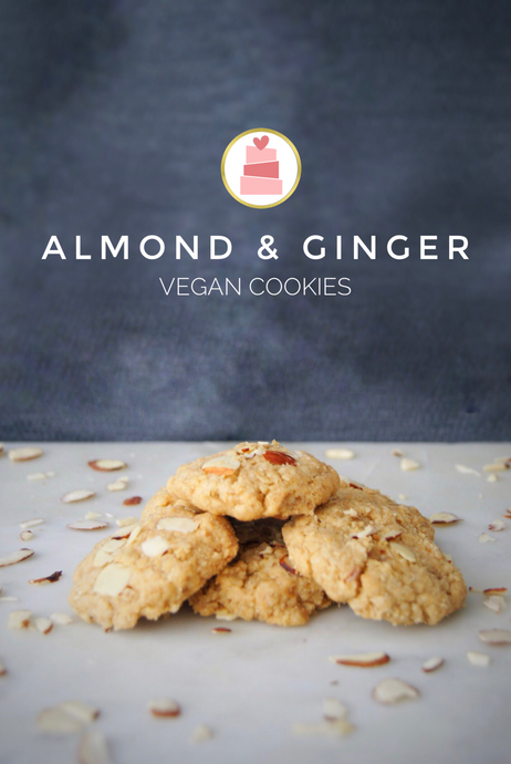 Almond & Ginger Vegan Cookies