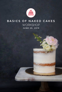 Basics of Naked Cakes Workshop