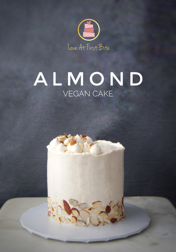 Triple Almonds || Vegan Cake
