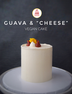 "Guava & ""Cheese"" II Vegan Cake"