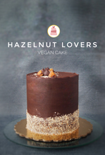 Load image into Gallery viewer, Hazelnut Lovers || Vegan Cake