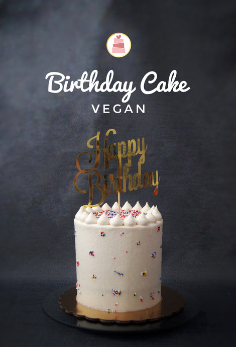 Vegan Birthday Cake