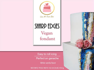 Sharp Edges Vegan Fondant