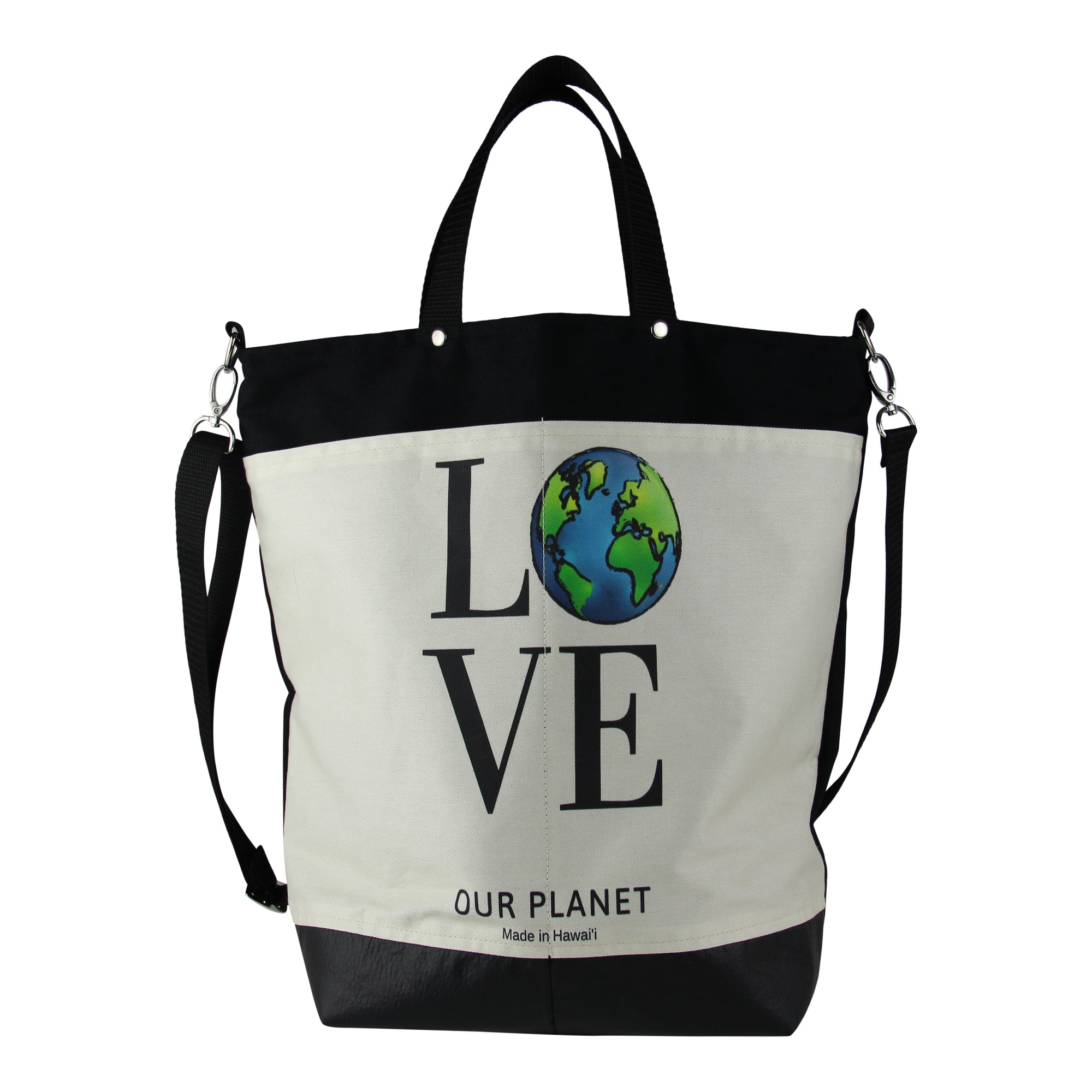 Market tote-Love our planet