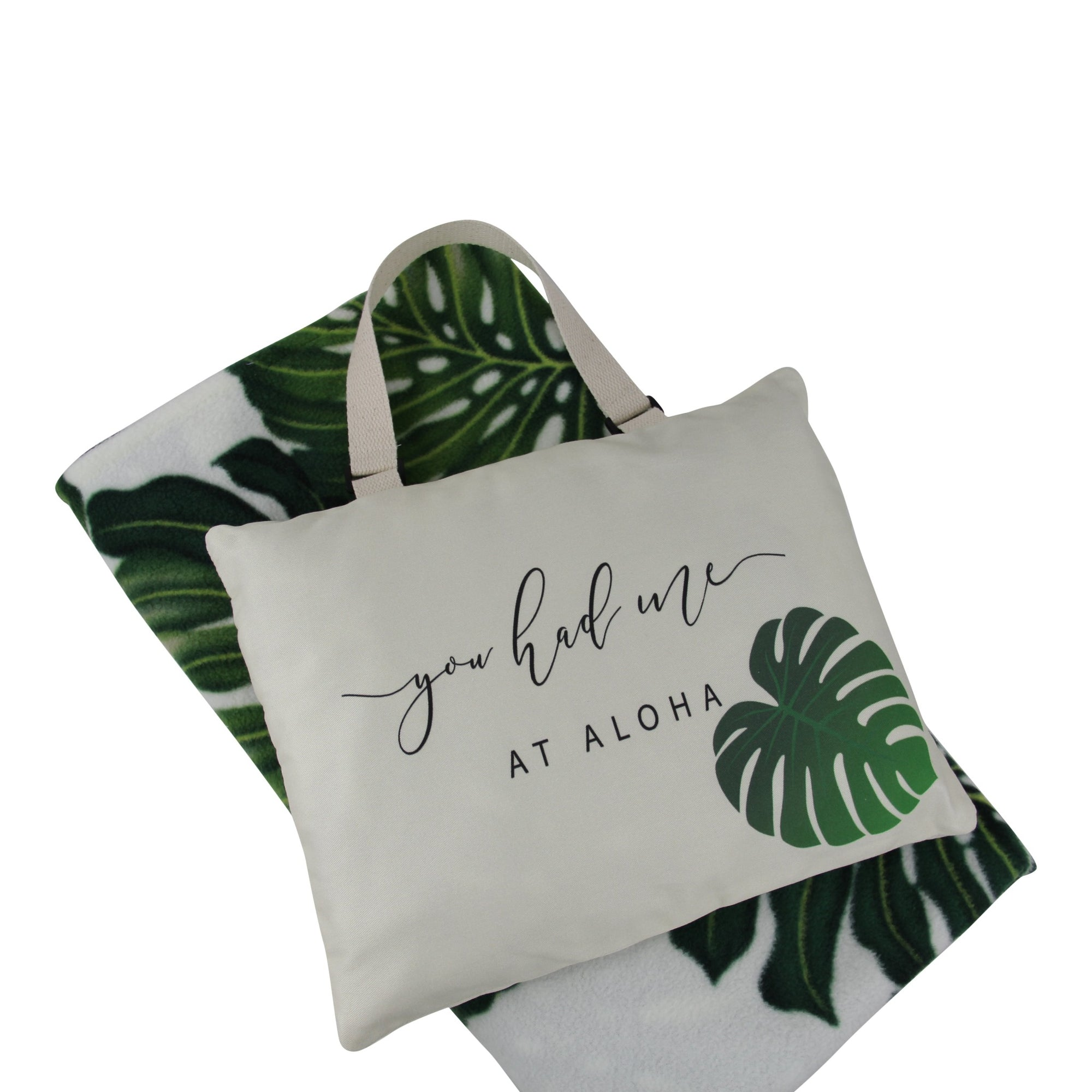 Hali'i Travel blanket set-You had me at Aloha