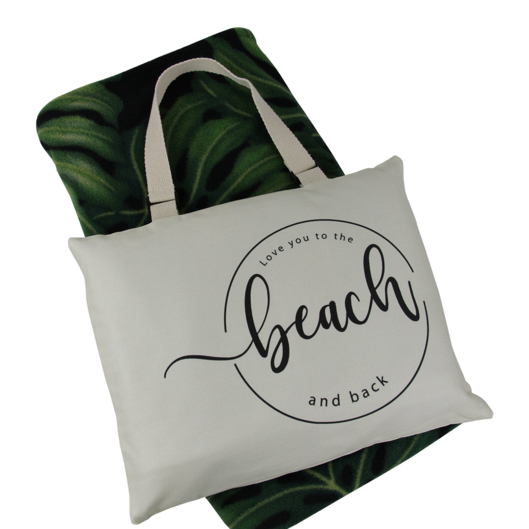 Hali'i Travel blanket set-Love you to the beach and back