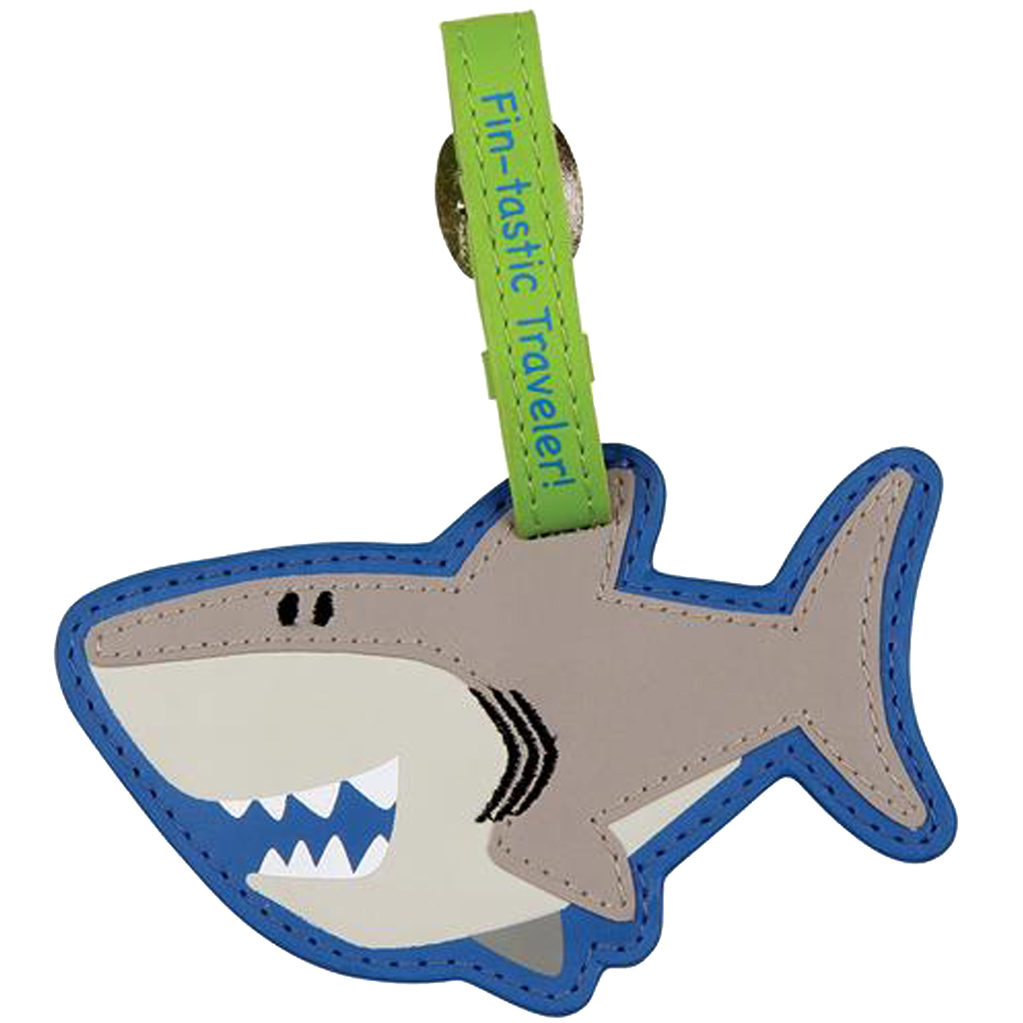 Luggage tag-Shark