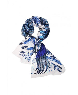 Blue Wings Scarf