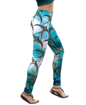 Swallows workout leggings