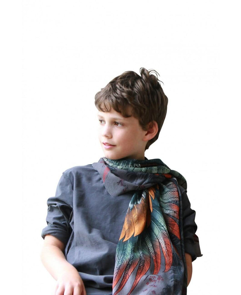 Spark Kids Wings Feathers Scarf