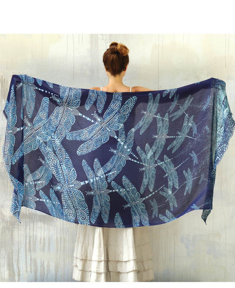 Dragonfly Shawl