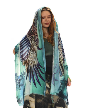 Eagles Wings Pines Scarf