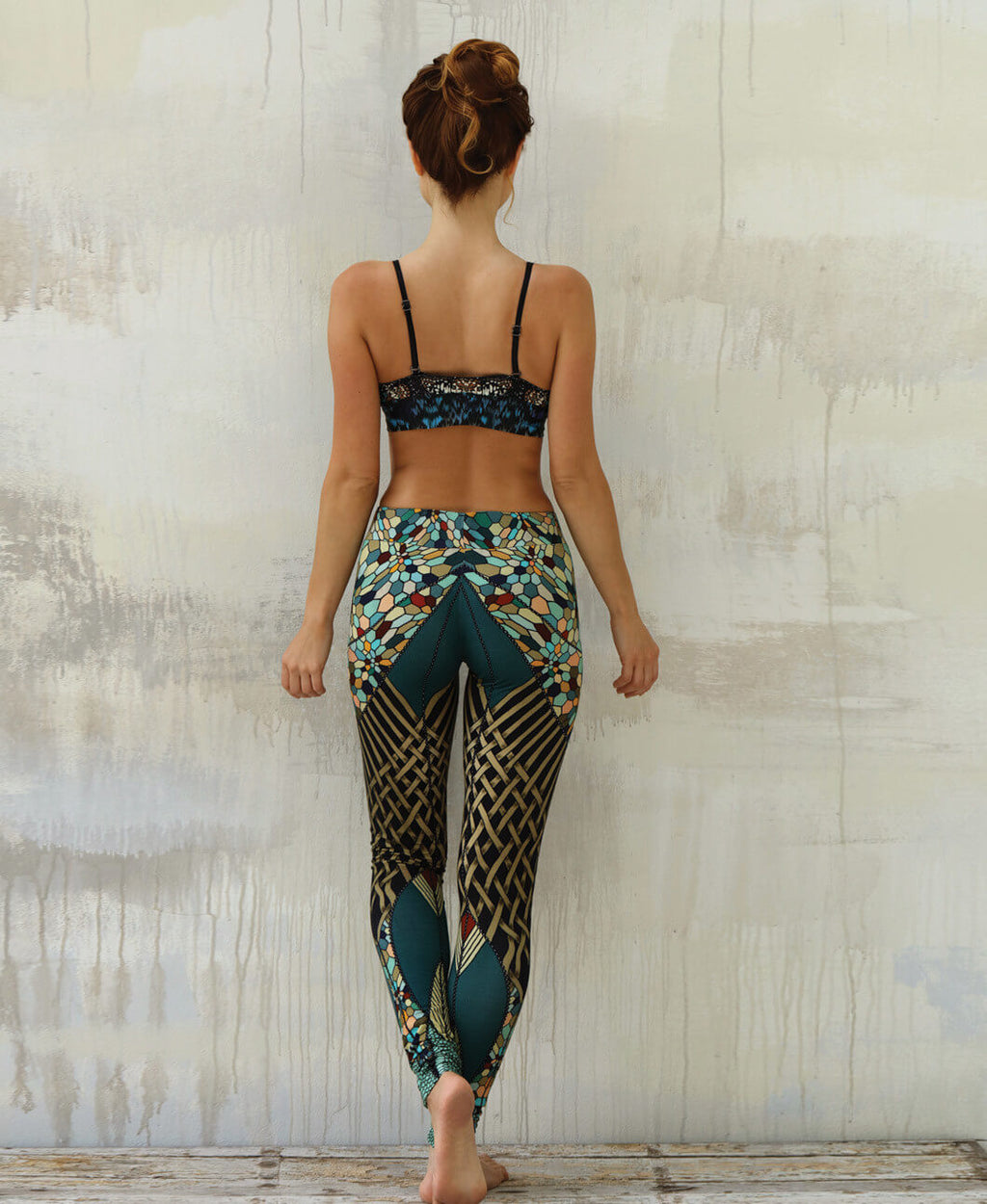 Fractal Color Leggings
