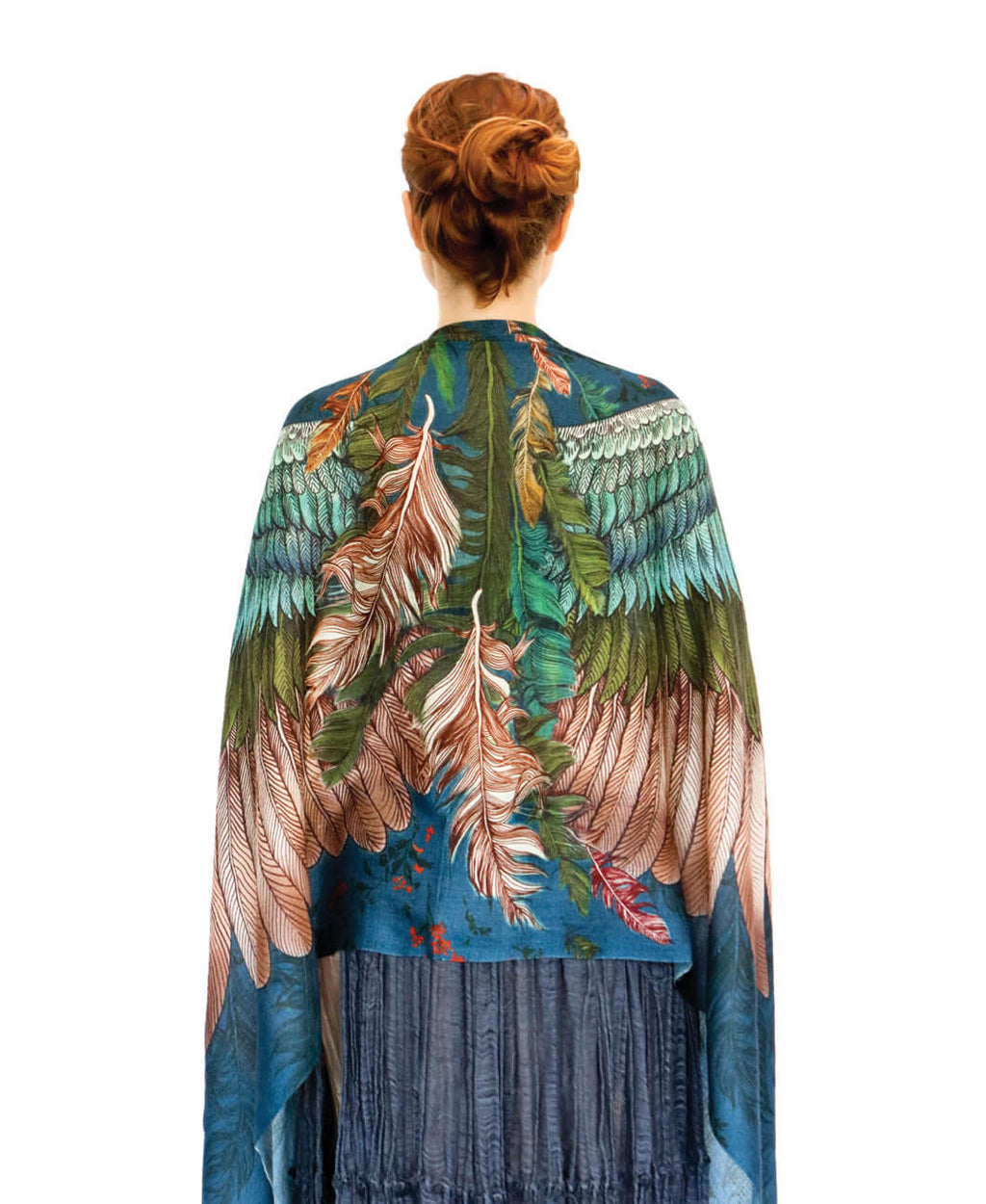 Jasper wide spread wings scarf