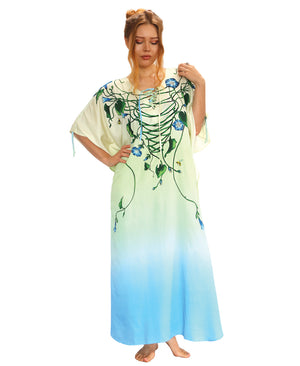 Morning Glory Light Kaftan