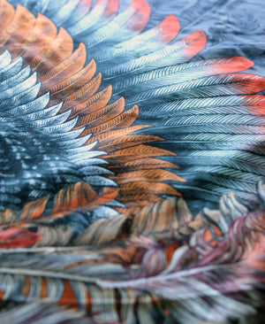 Spark bird wings scarf