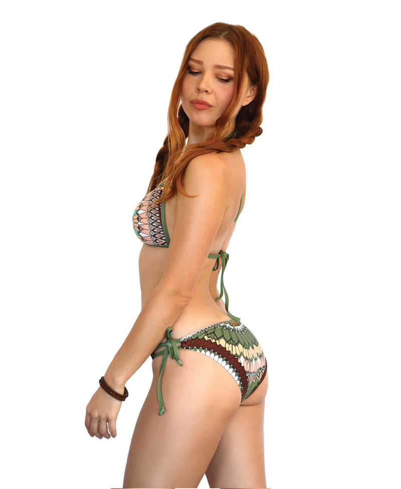 Tribal String Bikini Bottom