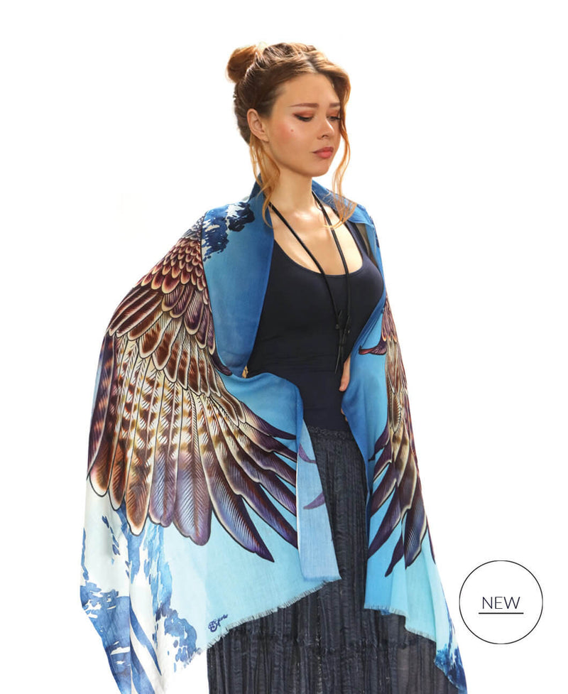 Eagle Wings Mountain Scarf
