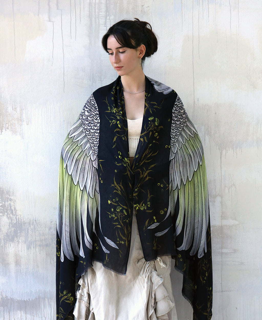 White Cockatoo Shawl