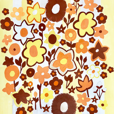Flowers - 70's wallpaper inspiration