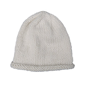 Organic Merino Wool Baby Hat - Cream