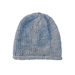 Organic Merino Wool Baby Hat - Gray Heather