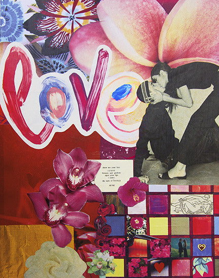 Love Collage Archival Print
