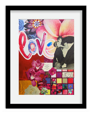 Love Collage Print