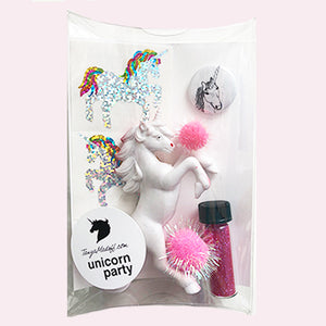 The Unicorn Party Pack in Pink - the perfect party favor or stocking stuffer for unicorn lovers!