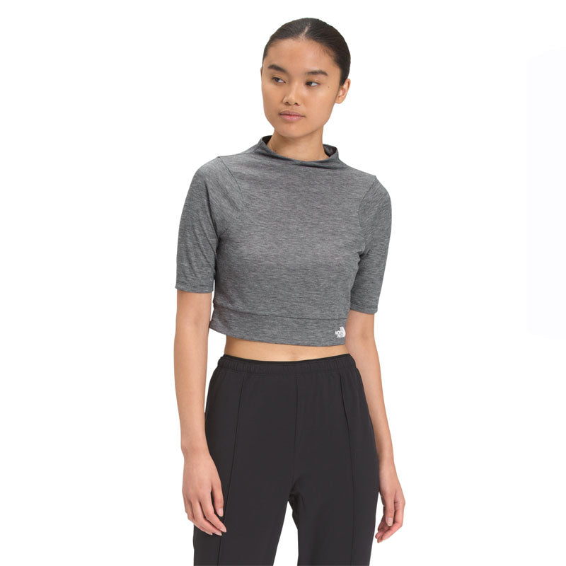 Vyrtue Short Sleeve Cropped T-Shirt