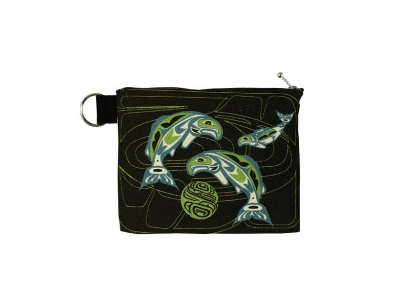Anthony Joseph Salmon Zip Pouch