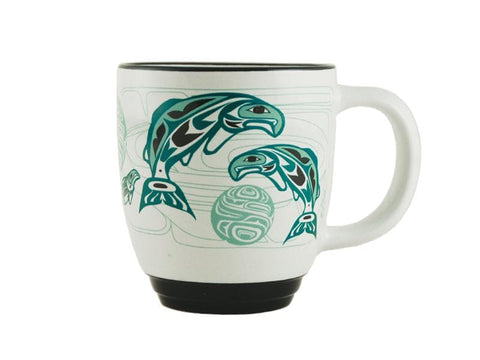 Anthony Joseph Salmon Halo Mug