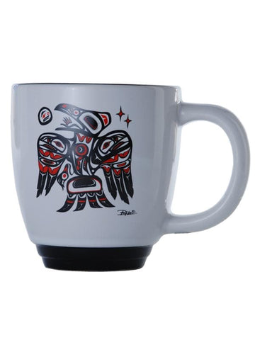 Bill Helin Raven Halo Mug