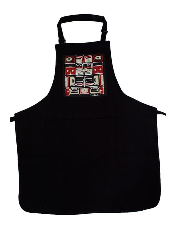 Bill Helin Chilkat Apron (Red)