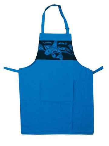 Bill Helin Killer Whale Apron